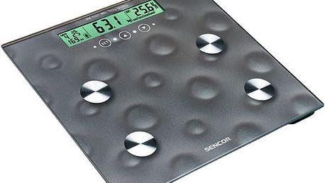 Sencor Osobní váha na měření tuku, vody a svalstva SBS 5021
