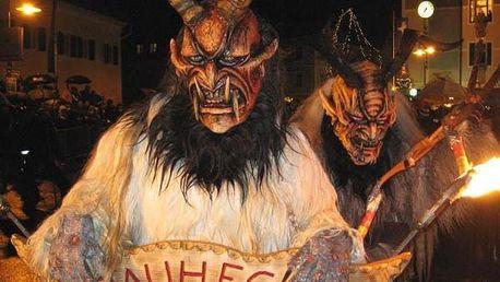Zájezd na strašidelný průvod čertů v Mariazellu