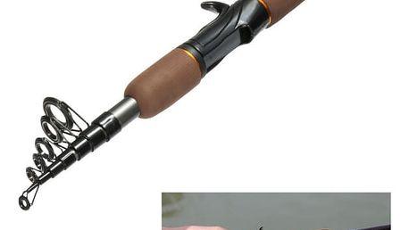 Teleskopický prut na ryby
