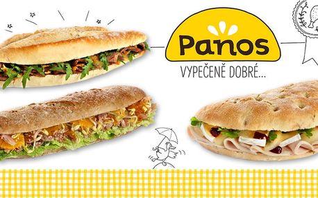 Vypečeně dobré sendviče z bageterie Panos
