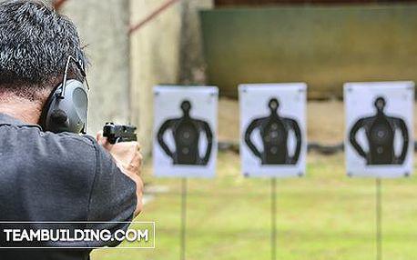 Akční střelba z ostrých zbraní v Mikulově vč. zapůjčení ochranných pomůcek