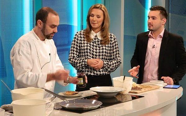 SUPER LAST MINUTE NABÍDKA: 2 hodiny kurzu vaření s konverzací v angličtině