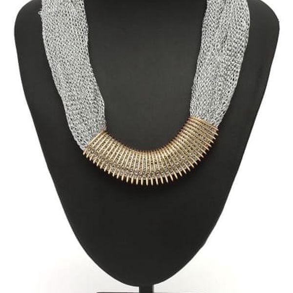 Dámský náhrdelník v extravagantním stylu