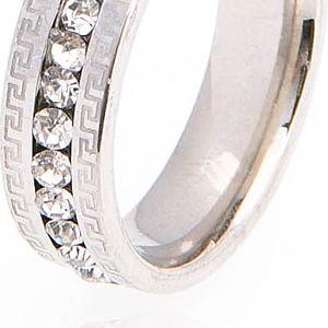 Prsten řecký styl s krystalky
