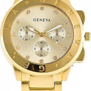 Náramkové hodinky Geneva ve třech barvách - poštovné zdarma