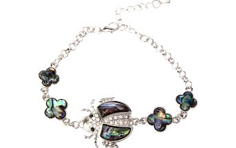 Fashion Icon Náramek beruška Paua perleť