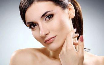 Kompletní kosmetické ošetření pleti s masáží