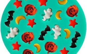 Silikonová forma na pečení a výrobu ledu - Halloween - poštovné zdarma