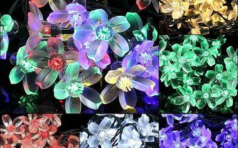 LED solární květinové osvětlení - poštovné zdarma