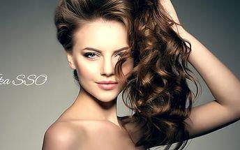 Dámský kadeřnický balíček pro všechny délky vlasů nebo pánský střih u metra B Kolbenova