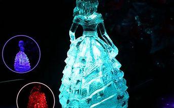 Krásná barvy měnící princezna - poštovné zdarma