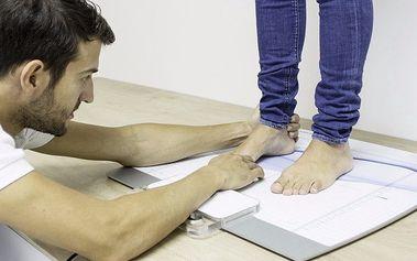 Zdravý krok díky statické analýze chodidel