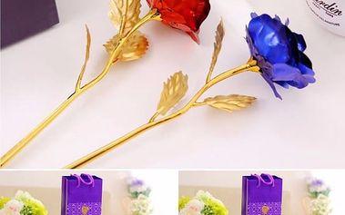 Růže v dárkovém balení - poštovné zdarma