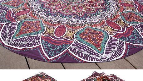 Plážový ručník - orientální styl - 145 cm - poštovné zdarma