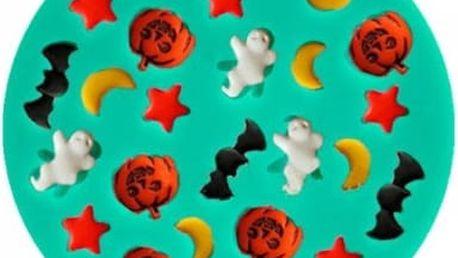 Silikonová forma na pečení a výrobu ledu - Halloween