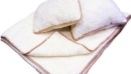 Hřejivé ložní sety: deka a polštář