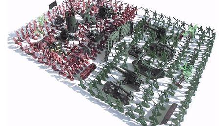 Set plastových vojáčků - 270 ks