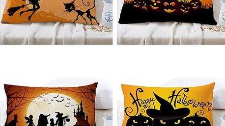 Halloweenský potah na polštář - 30 x 50 cm