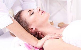 Uvolňující masáž zad a šíje s možností indické masáže hlavy, 45 minut relaxace