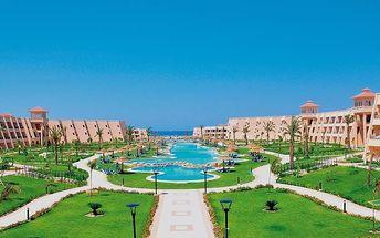 JASMINE PALACE, Egypt, Hurghada, 8 dní, Letecky, All inclusive, Alespoň 5 ★★★★★, sleva 58 %, bonus (Levné parkování u letiště: 8 dní 499,- | 12 dní 749,- | 16 dní 899,- )