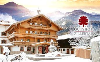 Luxusní Rakouské Alpy na 3-6 dní pro 1 osobu s polopenzí, neomezeným wellness a lyžováním