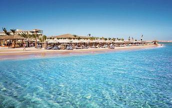 Hotel Amwaj Blue Beach Resort&spa, Egypt, Hurghada, 8 dní, Letecky, All inclusive, Alespoň 5 ★★★★★, sleva 40 %, bonus (Levné parkování u letiště: 8 dní 499,- | 12 dní 749,- | 16 dní 899,- )