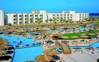 HILTON LONG BEACH, Egypt, Hurghada, 8 dní, Letecky, All inclusive, Alespoň 4 ★★★★, sleva 59 %, bonus (Levné parkování u letiště: 8 dní 499,- | 12 dní 749,- | 16 dní 899,- )