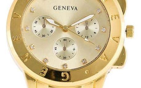 Náramkové hodinky Geneva ve třech barvách
