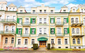 3–6denní pobyt se snídaněmi pro 2 v hotelu Melodie ve Františkových Lázních