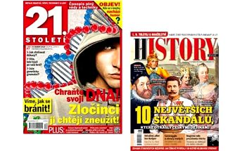 Předplatné časopisu 21. století a History Revue