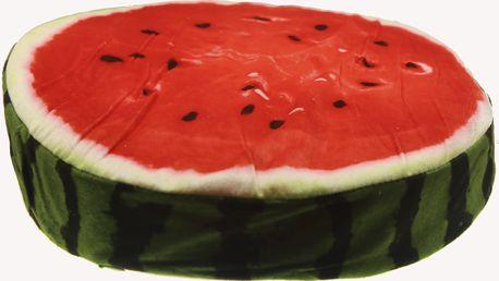 Luxusní kulatý polštář s motivem ovoce Vzor: Meloun