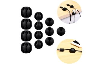 Stojánky na kabely a sluchátka