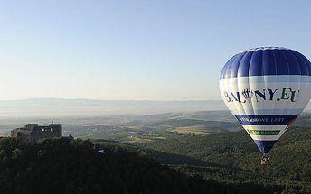 Let po Česku horkovzdušným balónem pro 1 osobu