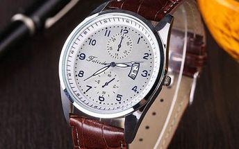 Pánské elegantní retro hodinky