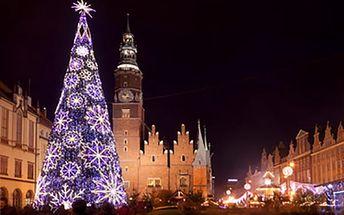 1denní zájezd do adventní Wroclawi. Akční cena!