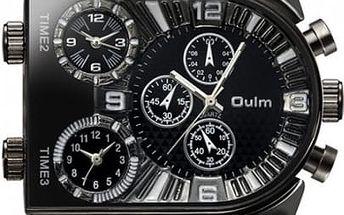 Elegantní pánské hodinky s jedinečným designem