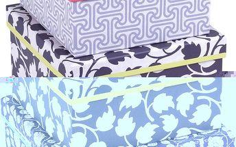 Sada 3 krabic Giraffe