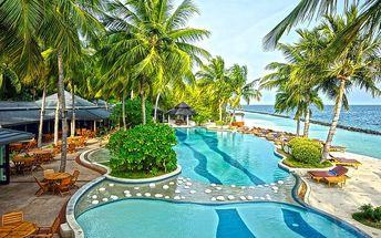 Maledivy - na 8 dní, snídaně s dopravou letecky z Prahy