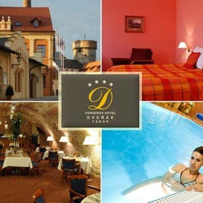 Wellness & Congress hotel Dvořák Tábor**** s gurmánskou polopenzí a vstupem do bazénu a sauny