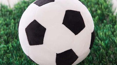 Plyšový fotbalový míč pro děti - skladovka - poštovné zdarma