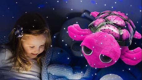 Hrající a barevně svítící želva či beruška s doručením zdarma