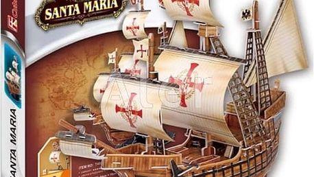 3D puzzle Cubicfun je zábavou pro celou rodinu. Vrtulník Burdž al-Arab, Eiffelova věž, Opera, aj.