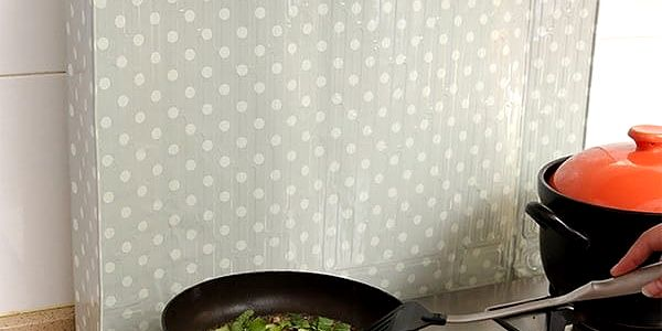 Samolepicí folie za sporák - 45 x 80 cm