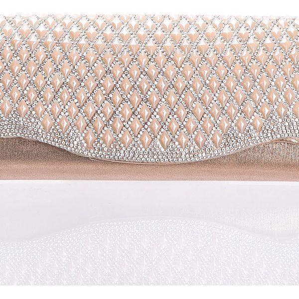 Fashion Icon Psaníčko Diamond Shine vlna kaminky hranaté