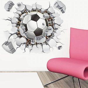 3D samolepka na zeď pro fotbalové nadšence - dodání do 2 dnů