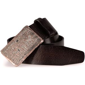 Pánský pásek - AB10732-29 Tmavě hnědý