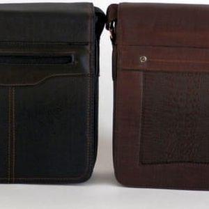 Pánská kožená taška s poštovným zdarma