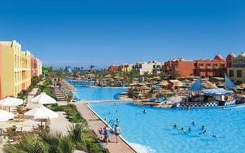 TITANIC BEACH SPA & AQUA PARK, Egypt, Hurghada, 8 dní, Letecky, All inclusive, Alespoň 4 ★★★★, sleva 57 %, bonus (Levné parkování u letiště: 8 dní 499,- | 12 dní 749,- | 16 dní 899,- )