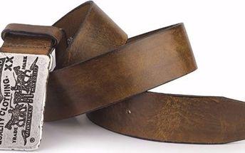Pánský pásek - AB10732 Hnědý