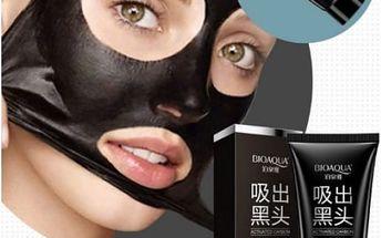 Slupovací maska na odstranění černých teček - black mask